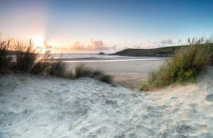 Crantock Beach Newquay Cornwall