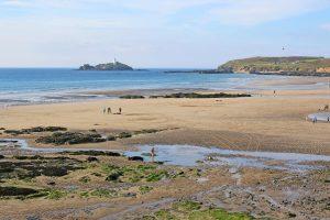 Godrevy Beach Cornwall