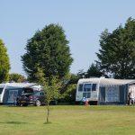 Touring and camping at Trevarth, Cornwall