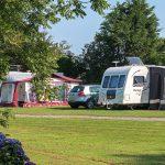 Touring and camping at Trevarth