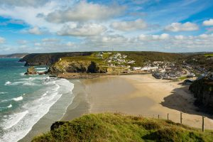Portreath Beach Cornwall